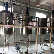 食用油精炼设备 茶籽油精炼机 核桃油精炼设备 油脂脱酸脂精炼