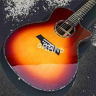 41寸手工定制916ce Taylor 泰勒木吉他 全珍珠包边 接受吉他定制