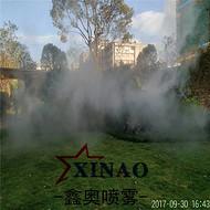 雾森景观喷雾设备 户外假山加湿造景系统