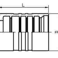液压软管接头,00621系列套筒