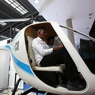 天天飞直升机飞行模拟器与各大**科技馆合作