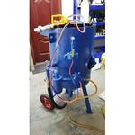 供应钢结构除锈喷砂机 设备翻新去底漆专用喷砂机