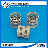 PPH圆型填料酸再生吸收塔鲍尔环PPH填料冷轧厂炼钢铁厂
