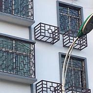 定做优质铝合金空调罩 空调外机罩厂家