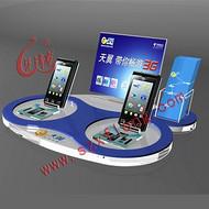 厂家供应亚克力手机托盘,LED展示架,数码展架,展示道具