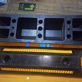 沈阳560*160*110mm橡胶定位器,沈阳挡车器
