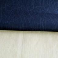 17%莫代尔35%棉46%聚脂纤维2%氨纶梭织透明印花布