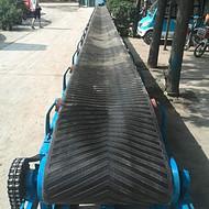 大量生产 污泥皮带输送机 移动升降可调角度皮带输送机