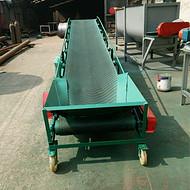 厂价供应粮食装车皮带输送机 电动粮食皮带输送机定制