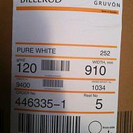进口瑞典单面光白牛皮纸 35克40克45克食品级白牛皮纸