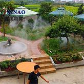 户外喷雾造景设备 公园小区景观造雾系统