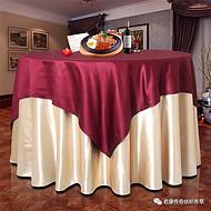 哈密鸿鼎纺织酒店桌布椅套/餐厅桌布椅套/餐厅桌布椅套批发