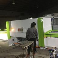 橱柜门板吸塑机 pvc覆膜所需木工机械设备