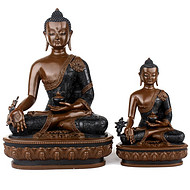 藏传密宗铜佛像 藏密铜佛像批发定制