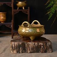 铜香炉定做工厂 斑铜香炉定制厂家 高档铜香炉批发定制
