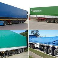 供应汽车蓬盖材料--PVC涂层布 PVC夹网布防水遮盖布
