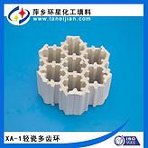 XA-1轻瓷多齿环焦化厂用轻瓷飞碟环飞轮环全瓷填料六边菱形环