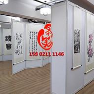 宁波画展布置服务,宁波书画展览展板架租售服务