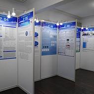 上海务美牌壁报粘贴展示板出租,海报展板制作