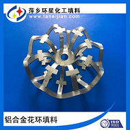不锈钢泰勒花环填料一种新型不锈钢填料铝合金花环