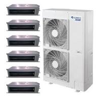 北京格力中央空调家用家装一拖三四五六多联机