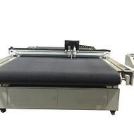 振动刀切割机 数控汽车脚垫切割机 低价皮革脚垫切割机