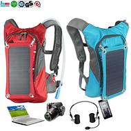 太阳能运动背包  solar backpack