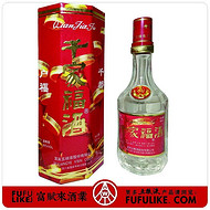五粮液系列酒千家福36度500毫升1999年浓香型白酒