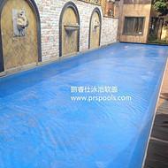 别墅恒温泳池建造需要哪些设备 中国有哪些品牌 推荐 鹏睿仕泳池覆盖系统