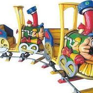 郑州马里奥小火车儿童游乐设施生产厂家游乐设备价格