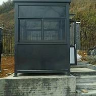 杭州厂家直销氟碳喷漆岗亭收费岗亭 岗楼钢结构方形岗亭