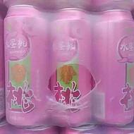 500毫升水蜜桃易拉罐果啤