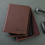 定制笔记本 活页本 三折记事本 工作笔记 商务活页本 活页夹