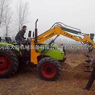 丽江水泥杆螺旋打坑机大海机械专利产品