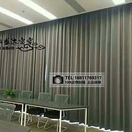 北京窗帘厂家定做电动窗帘学校喷绘窗帘宿舍窗帘公寓布艺窗帘