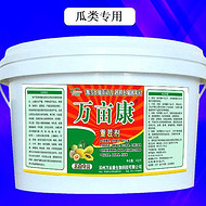 瓜类重茬种植病害多产量低,就用万亩康专业抗重茬剂