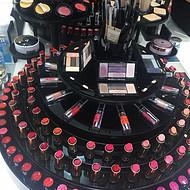 厂家供应化妆品展示台,单品陈列架,护肤品陈列道具,展示道具