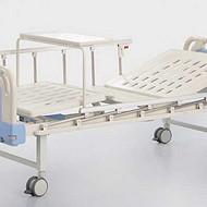 河北普康医用床B-12 ABS床头移动双摇床