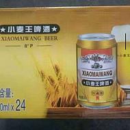 320毫升小麦王易拉罐啤酒