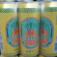 500ml菠萝易拉罐果啤
