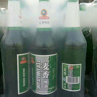 金麦啤酒588ml玻璃瓶啤酒