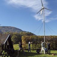 家用风力发电机5kw的新疆内蒙用效率高的的抗大风的风电设备