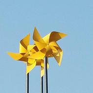 景观风车制造专家 款式多样 造型美观
