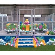 喷球车儿童游乐设备图片