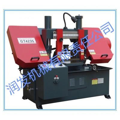 GT4235液压金属带锯床 厂家现货 单立柱构造 锯切稳固