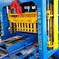 宏发砖机4-15砌块成型机