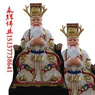 永辉佛业供应四海龙王白龙爷黑龙爷彩绘神像