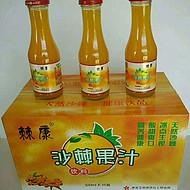 沙棘汁健康饮品 棘康沙棘果汁饮料 沙棘特产山西特产内蒙特产西北特产 棘康沙棘制品