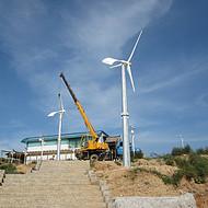 山东风力发电机1kw的山上用的缺电地区不可少的风电设备
