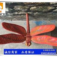 不锈钢蜻蜓雕塑定制厂家